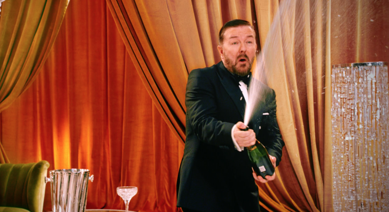Ricky Gervais Set To Host Golden Globes For A Fifth Time