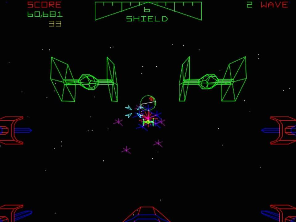 """<p>You never forget your first trench run, and for countless kids of the 1980s, that happened while staring at the vector-based screen of the legendary <i>Star Wars </i>arcade game. Released in 1983, the game's iconic flight yoke controls were an immediate hit, as was its multistage gameplay, which pit gamers against Tie Fighters, laser turrets, and eventually the Death Star's brutal defenses. Digitized voice samples from the film made it feel even more authentic (""""You're all clear, kid!""""), but if you happened to find one of the rare sit-down cockpits, you were truly in another galaxy.</p>"""