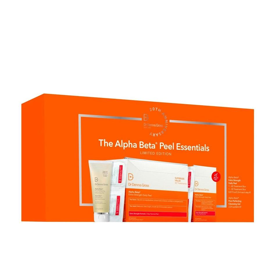 """Add these gold-standard peel pads to your cart—at $90 off—ASAP. Thank us later for your clear, glowing skin. $252, Nordstrom. <a href=""""https://www.nordstrom.com/s/dr-dennis-gross-skincare-alpha-beta-extra-strength-daily-peel-set-252-value/5585365?origin=category-personalizedsort&breadcrumb=Home%2FAnniversary%20Sale%2FBeauty%20Exclusives&color=none"""" rel=""""nofollow noopener"""" target=""""_blank"""" data-ylk=""""slk:Get it now!"""" class=""""link rapid-noclick-resp"""">Get it now!</a>"""