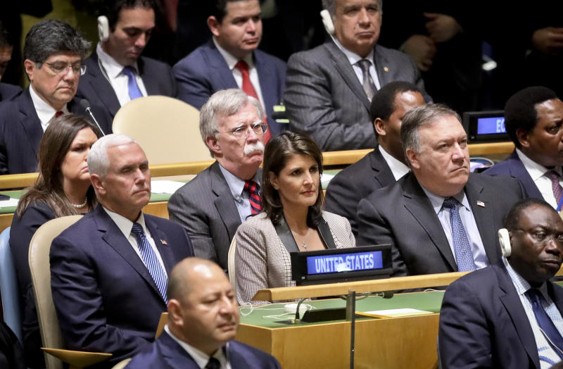 Trump takes aim at Iran, China at UN Security Council