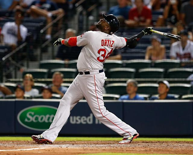 Former Boston Red Sox star David Ortiz was seriously injured June 9, 2019 when he was shot while visiting his native Dominican Republic (AFP Photo/Mike Zarrilli)