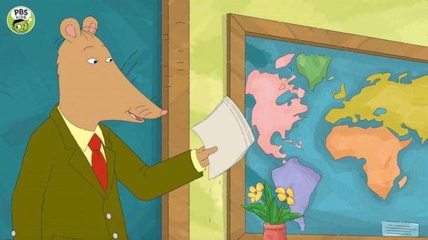 PHOTO: Mr. Ratburn appears in an episode of the PBS show, 'Arthur.' (Copyright 2019 WGBH/PBS Kids)