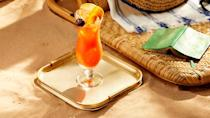 <p>Rum and an array of tropical fruit juices combine for this passionfruit-infused take on the classic tropical cocktail. (Bonus: The hurricane is also a favorite drink in New Orleans, if you're planning a Mardi Gras or other Big Easy-themed event!) </p>