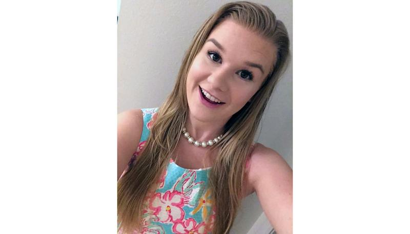 This undated photo taken from the Facebook page #FindMackenzieLueck shows a Mackenzie Lueck, 23, a senior at the University of Utah, who was last seen a week ago. Police and friends are investigating the disappearance of the University of Utah student who hasn't been heard from since she flew back to Salt Lake City last Monday after visiting family in El Segundo, California. (#FindMackenzieLueck via AP)
