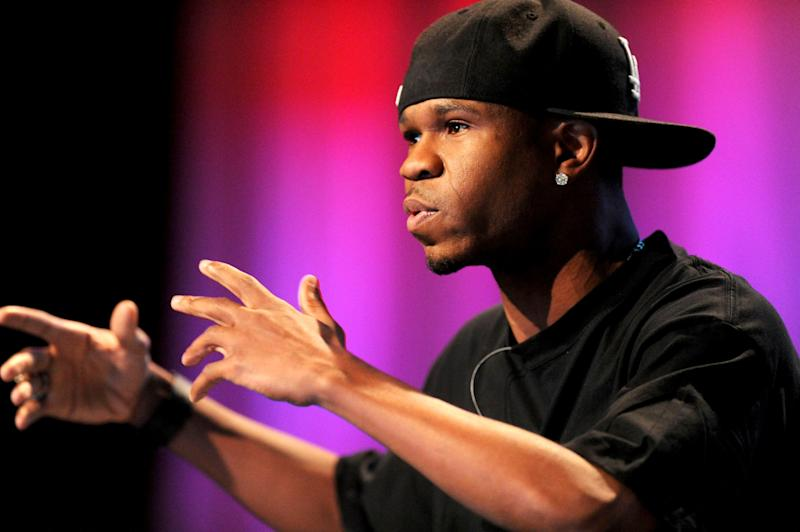 Chamillionaire, a recording artist and chief executive officer of Chamillitary Entertainment, speaks at the TechCrunch Disrupt conference in San Francisco, California, U.S., on Tuesday, Sept. 28, 2010. The conference runs until Sept. 29. Photographer: Noah Berger/Bloomberg via Getty Images