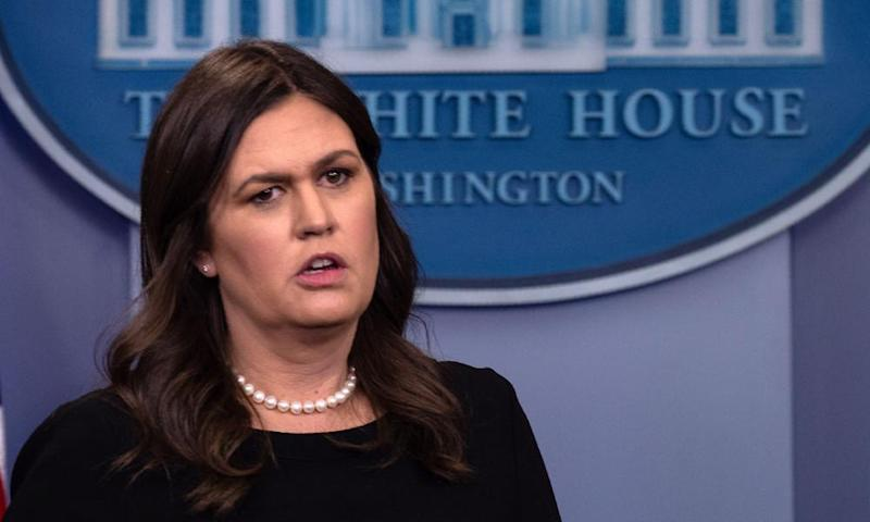 'I always do my best to treat people, including those I disagree with, respectfully,' Sarah Sanders said.