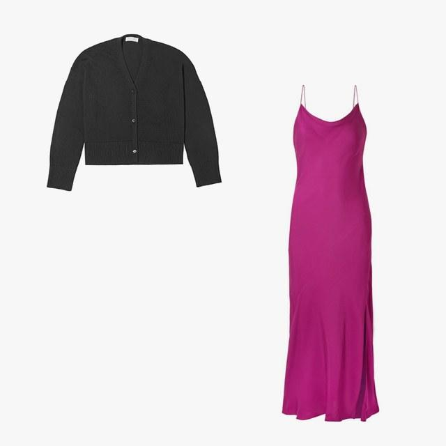 8872598986 Shop the 7 Best Slip Dress and Cardigan Combos