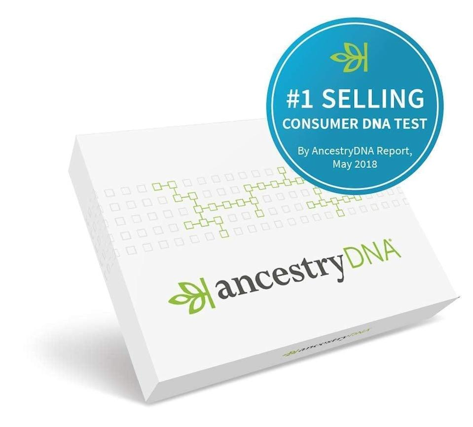 <p>Learn the details of your family history with this <span>AncestryDNA: Genetic Testing Ethnicity</span> ($59, originally $99).</p>