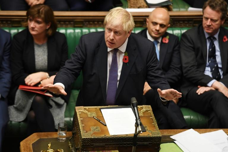 The December election is a gamble for Britain's Prime Minister Boris Johnson (AFP Photo/JESSICA TAYLOR)
