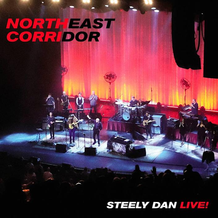 """The cover of the new """"Northeast Corridor: Steely Dan Live!"""" album, due in September 2021."""