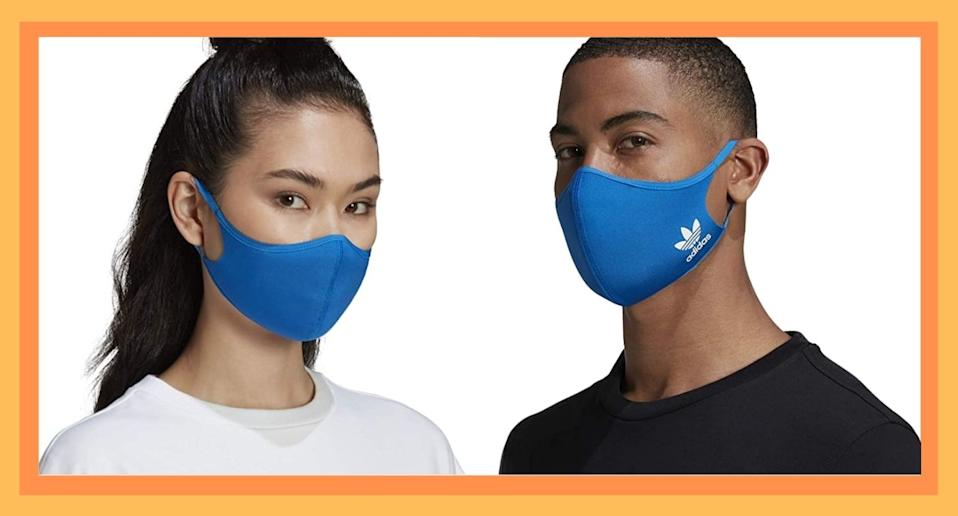 Adidas's Face Masks are on sale. Score a pack of three lightweight masks for just $20 on Amazon.
