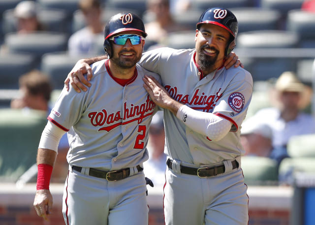 The Nationals are in good shape, but their schedule is brutal down the stretch. (Photo by Todd Kirkland/Getty Images)
