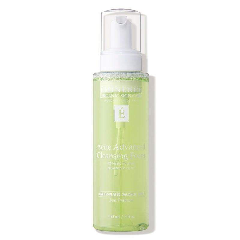 "<h2>Eminence Organic Skin Care Acne Advanced Cleansing Foam</h2> <br><br>Josie Holmes, an aesthetician at <a href=""https://www.skinneymedspa.com/"" rel=""nofollow noopener"" target=""_blank"" data-ylk=""slk:Skinney Medspa"" class=""link rapid-noclick-resp"">Skinney Medspa</a> in New York City, recommends this Eminence cleanser to her clients who prefer clean beauty products. ""This has vitamin E and aloe vera to help calm redness, irritation, and inflammation,"" she says. <br><br><strong>Eminence Organic Skin Care</strong> Acne Advanced Cleansing Foam (5 oz.), $, available at <a href=""https://go.skimresources.com/?id=30283X879131&url=https%3A%2F%2Fwww.dermstore.com%2Fproduct_Acne%2BAdvanced%2BCleansing%2BFoam_77849.htm%3Fgclid%3DEAIaIQobChMIicDZ3rKT6QIVVODICh3vhQsQEAQYASABEgIFjvD_BwE%26scid%3Dscplp77849%26sc_intid%3D77849%26iv_%3D__iv_p_1_g_105743645744_c_424622113669_w_pla-917786071884_n_g_d_c_v__l__t__r__x_pla_y_6790012_f_online_o_77849_z_US_i_en_j_917786071884_s__e__h_9004339_ii__vi__%26utm_source%3Dfro%26utm_medium%3Dpaid_search%26utm_term%3Dskin%2Bcare%26utm_campaign%3D500221"" rel=""nofollow noopener"" target=""_blank"" data-ylk=""slk:DermStore"" class=""link rapid-noclick-resp"">DermStore</a><br><br>"