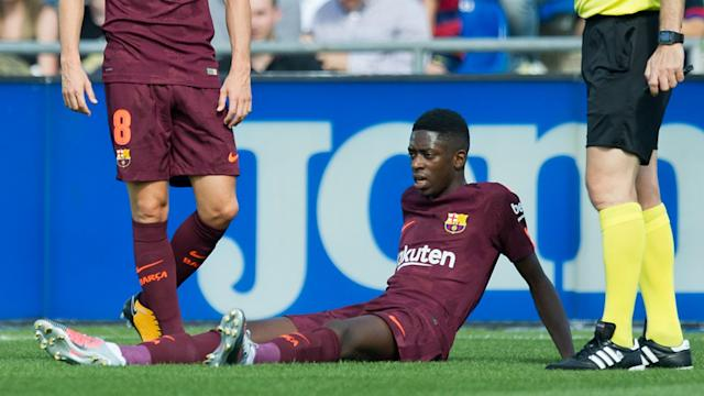 The forward tore his hamstring in his first La Liga start for Barca but his former team-mate believes he will settle well
