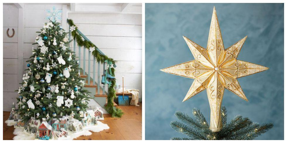A Candle On A Christmas Tree While A Star Is Often Traditional As A