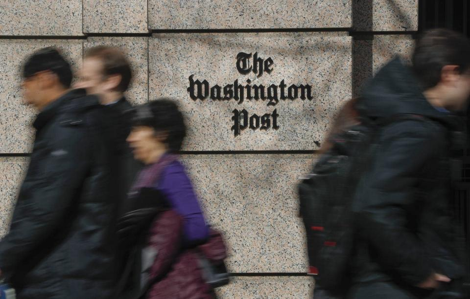 """<span class=""""caption"""">The Washington Post has been criticized for saying a reporter who was the victim of a sexual assault couldn't objectively cover topics like the #MeToo movement.</span> <span class=""""attribution""""><span class=""""source"""">(AP Photo/Pablo Martinez Monsivais)</span></span>"""
