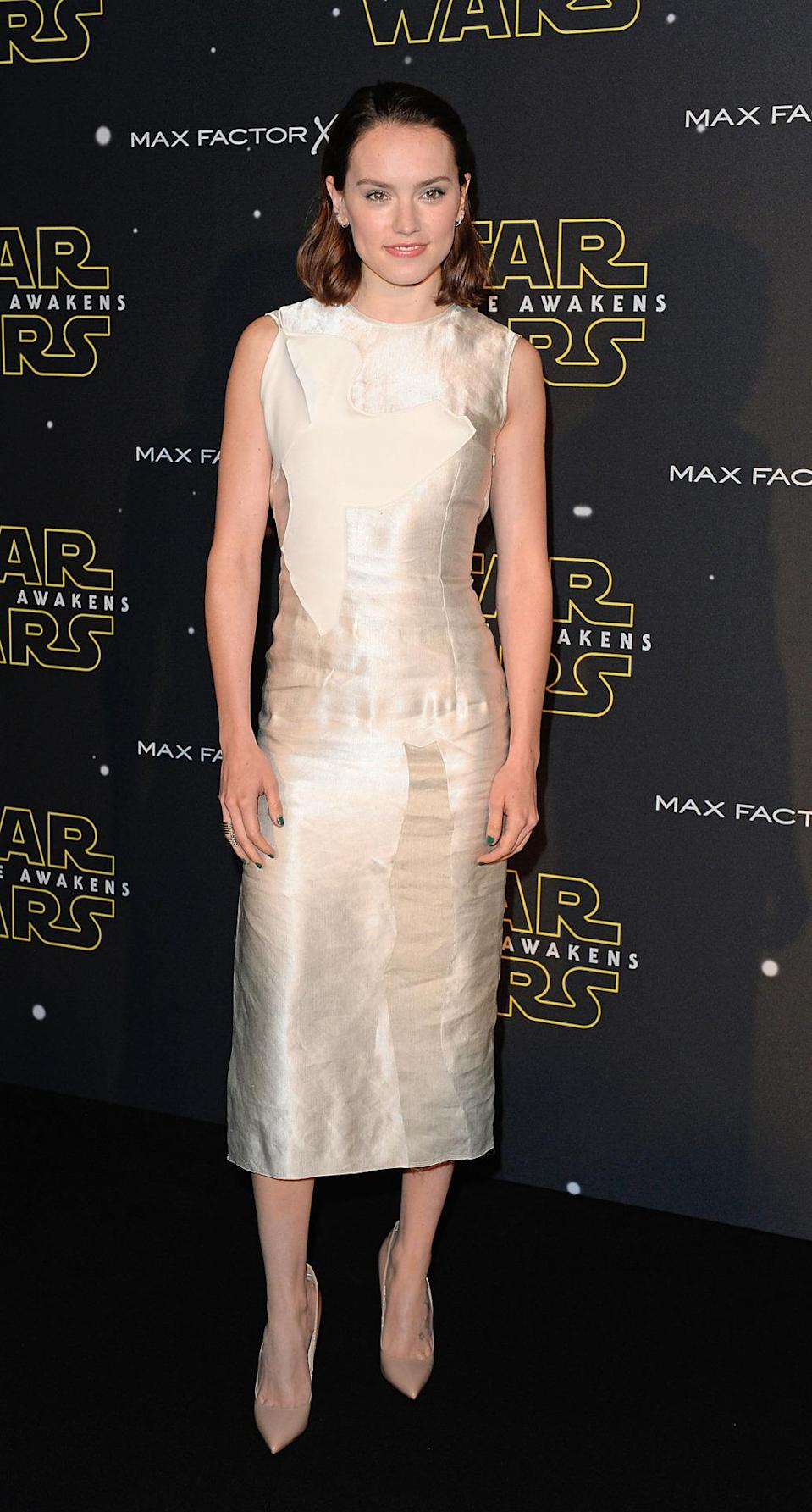 <p>For her first big international tour, Ridley scored a major celebrity stylist: Petra Flannery. Flannery dresses all of your style icons, from Emma Stone and Carey Mulligan to Zoe Saldana and Claire Danes, meaning Ridley's already in the very best fashion hands.</p><p><i>(Photo: Getty Images)</i></p>