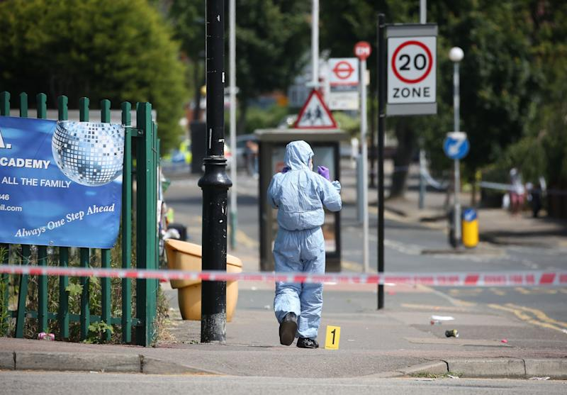 A boy aged 15 was stabbed to death in Romford: PA