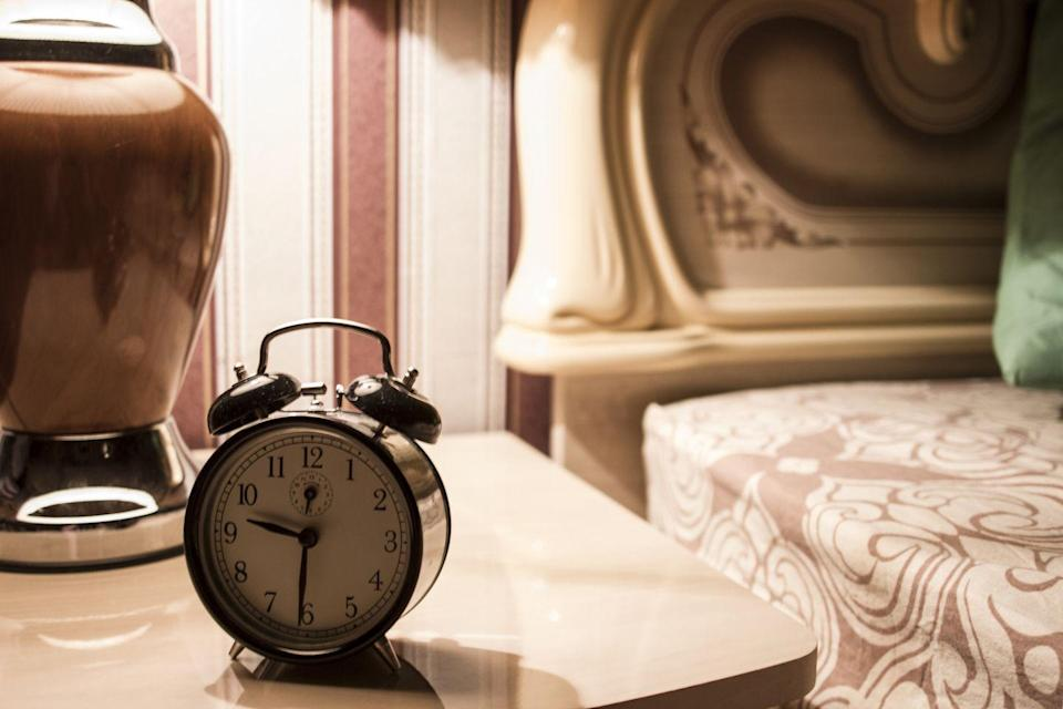 """<p>Once you have everything set out and ready, it may be tempting to think you can stay up later since you'll be saving time in the morning. Resist. Going to bed at the same time every night helps you set up a habit that makes you feel more rested in the morning, according to <a href=""""https://www.uwmedicine.org/bios/nathaniel-watson"""" rel=""""nofollow noopener"""" target=""""_blank"""" data-ylk=""""slk:Nate Watson, M.D."""" class=""""link rapid-noclick-resp"""">Nate Watson, M.D.</a>, advisory board member at SleepScore Labs. That boosts performance for your workout.</p>"""