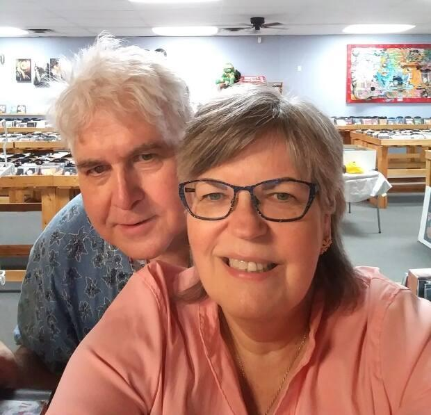 Mary Anne and Roland Peloza own Cheeky Monkey in Sarnia, Ont. The couple are retiring in September. (Submitted by Mary Anne and Roland Peloza - image credit)