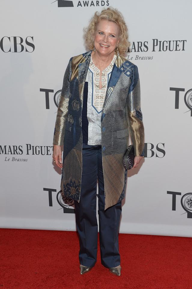 NEW YORK, NY - JUNE 10:  Candice Bergen attends the 66th Annual Tony Awards at The Beacon Theatre on June 10, 2012 in New York City.  (Photo by Mike Coppola/Getty Images)