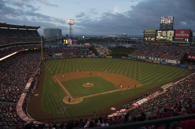 The Angels may not call Angel Stadium home after 2019. (Photo by Josh Barber/Angels Baseball LP/Getty Images)