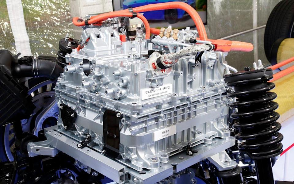 Toyota Mirai fuel cell stack