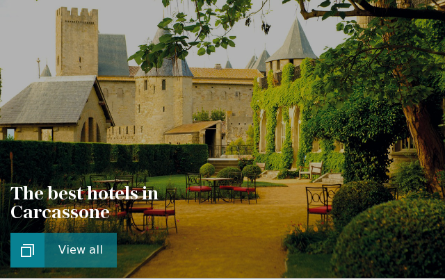 The best hotels in Carcassone