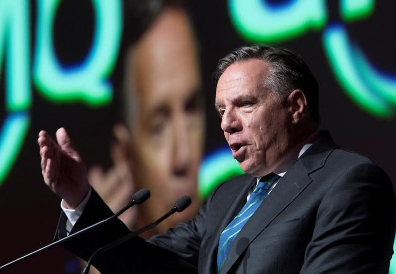 Coalition's Francois Legault on hot seat over proposed French, values tests for newcomers