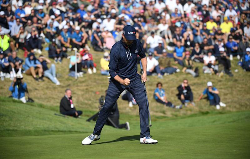 Pro golfers react to Europe's dominant performance at the Ryder Cup