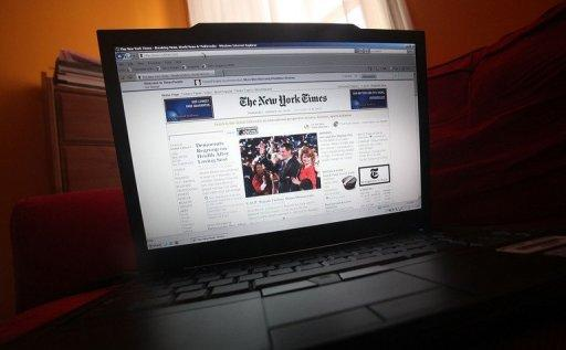 Nearly one of seven newspapers read in the United States is now a digital one