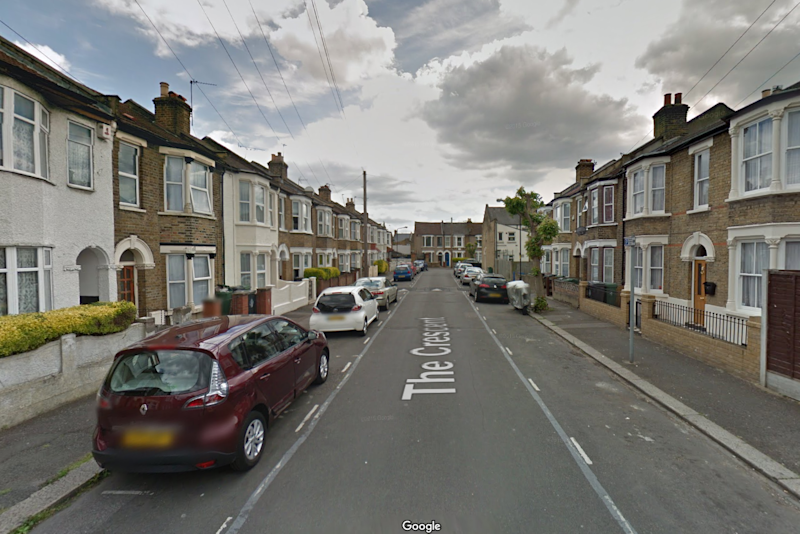 Walthamstow: The victims were abused at his home on The Crescent (Google Maps)