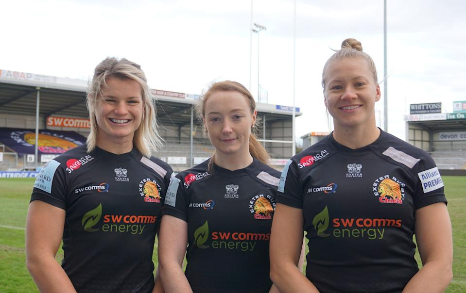 The best is yet to come for Exeter Chiefs this season, accoring to head coach Susie Appleby. Credit: Exeter Chiefs