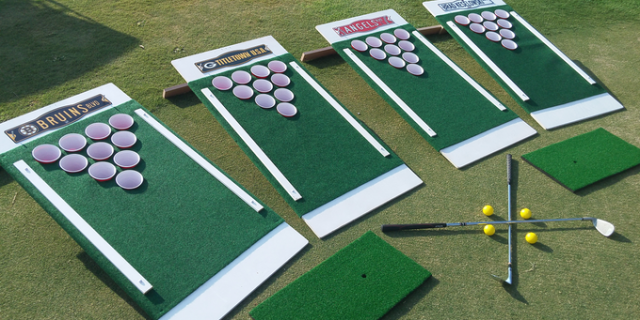 Photo credit: Courtesy of Beer Pong Golf