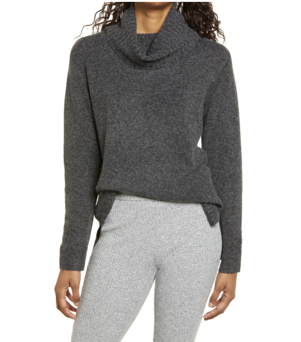 BP. Longline Turtleneck Sweater - Nordstrom, from $18 (originally $39)