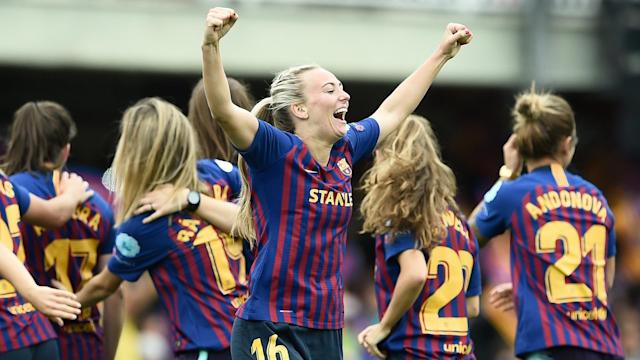 Currently representing England in the Women's World Cup, the player has confirmed she will not be returning to Catalunya for 2019-20