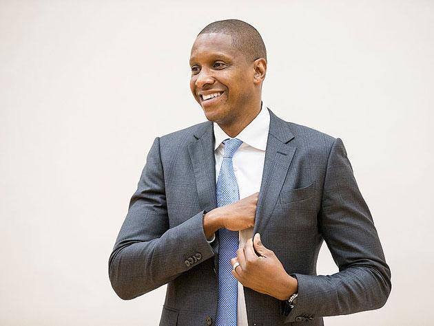 Masai Ujiri has presided over three Atlantic championships in Toronto. (Getty Images)