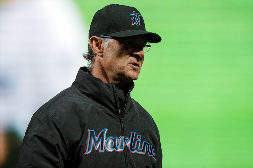 Don Mattingly is the third Miami Marlins manager to win NL Manager of the Year. (Photo by Jason O. Watson/Getty Images)