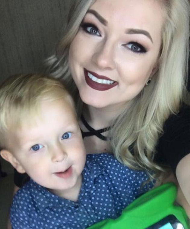 Jessica has praised her ex Jon for being such an incredible dad to their son, Pierson. Photo: Facebook