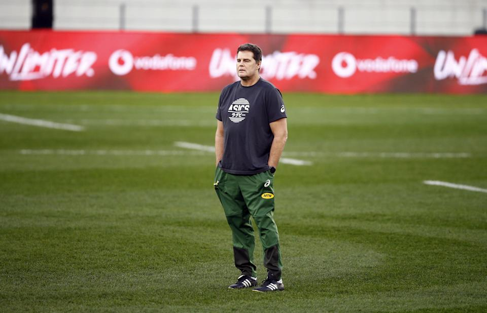South Africa director of rugby Rassie Erasmus will face a misconduct hearing after the series against the Lions (Steve Haag/PA) (PA Wire)