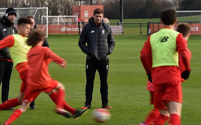 Gerrard spent the vast majority of playing career at Liverpool, and has returned to his boyhood club as a coach - Liverpool FC
