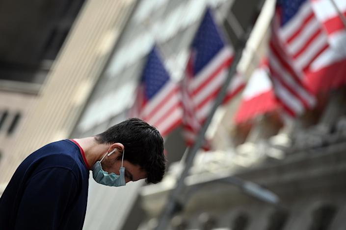 US stock markets enjoyed on of their best days of 2020 on Monday. (Anthony Behar/Sipa USA)