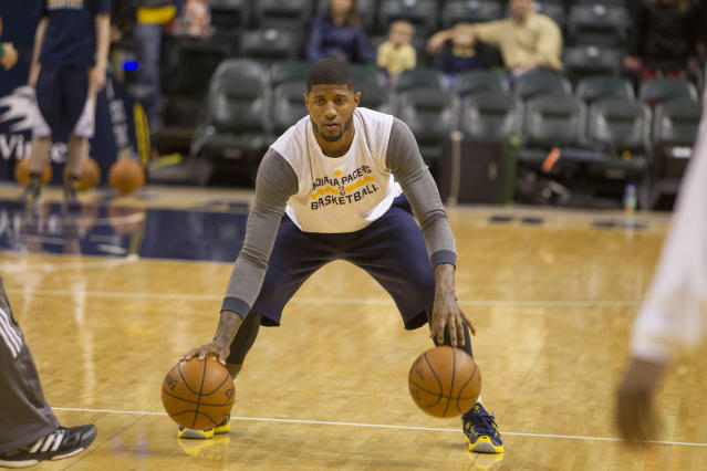 Paul George eyeing mid-March return for Pacers