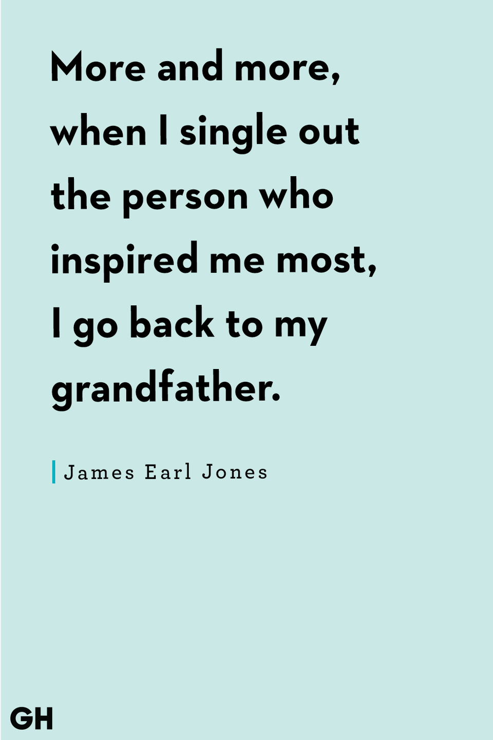 <p>More and more, when I single out the person out who inspired me most, I go back to my grandfather.</p>