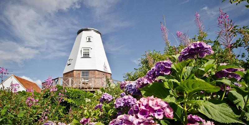 This rustic converted windmill in Kent is the perfect place for an autumn staycation