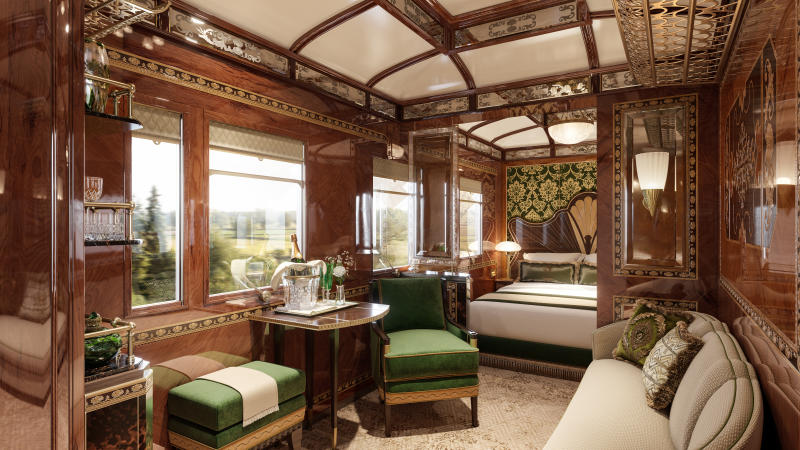 The 'Vienna' quarters reflect the city's most famous landmarks [Photo: Belmond]