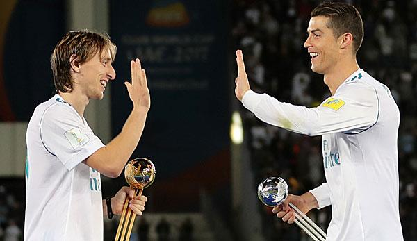 Primera Division: Wie Cristiano Ronaldo: Luka Modric will Karriere bei Real Madrid beenden