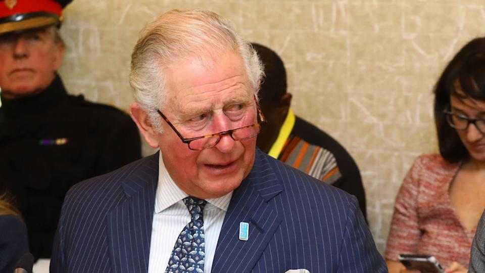"""File photo dated 10/03/20 of the Prince of Wales alongside Tim Wainwright from WaterAid (right) at the WaterAid charity's Water and Climate event in London. The Prince of Wales has tested positive for coronavirus and is displaying mild symptoms """"but otherwise remains in good health"""", Clarence House has said."""