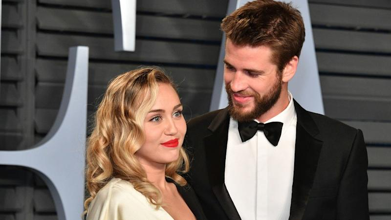 801df3a9ad85 Miley Cyrus Jokes About NSFW Way She and Liam Hemsworth Use FaceTime