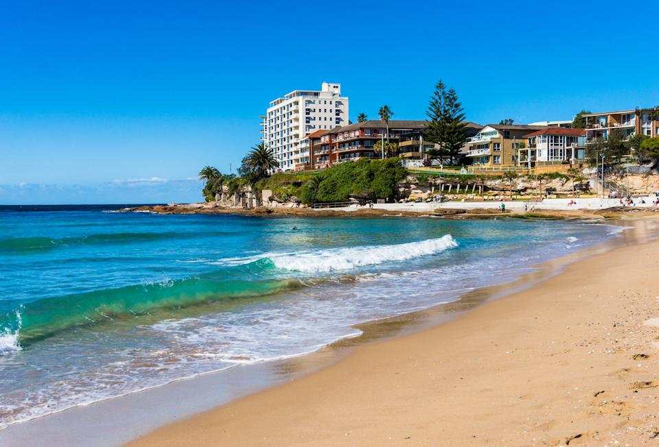 Cronulla Beach. Sutherland Shire's property market has been earmarked for strong performance across 2021. (Source: Getty)